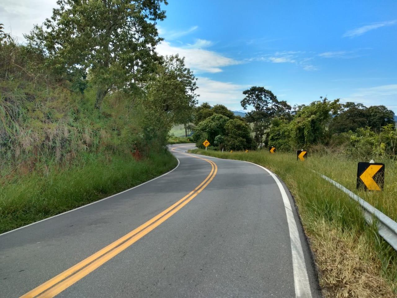 Estradas 100% fechadas no Grampér